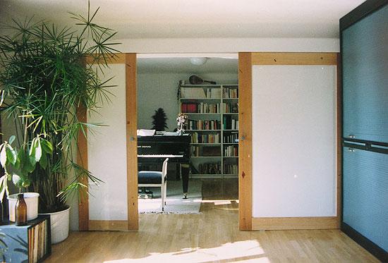 schiebet r offen. Black Bedroom Furniture Sets. Home Design Ideas